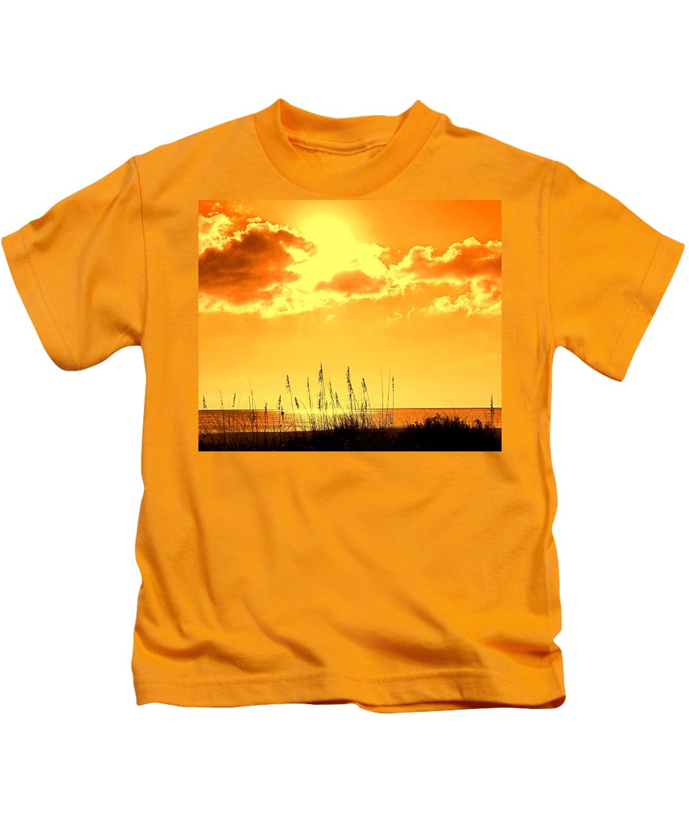 Sun Kids T-Shirt featuring the photograph For When Winter Gets To You by Ian MacDonald