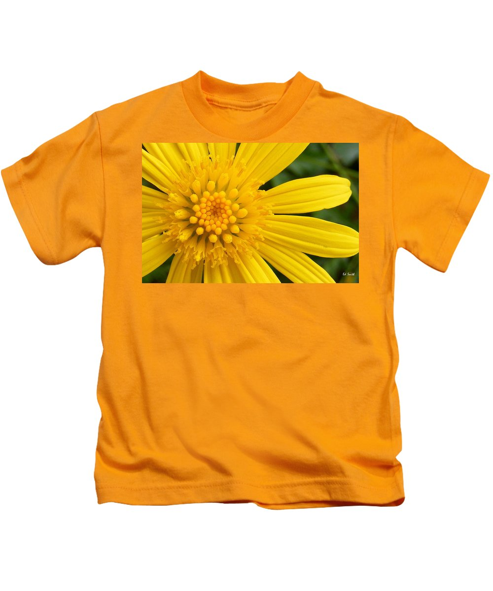 Good Morning Sunshine Kids T-Shirt featuring the photograph Good Morning Sunshine by Edward Smith