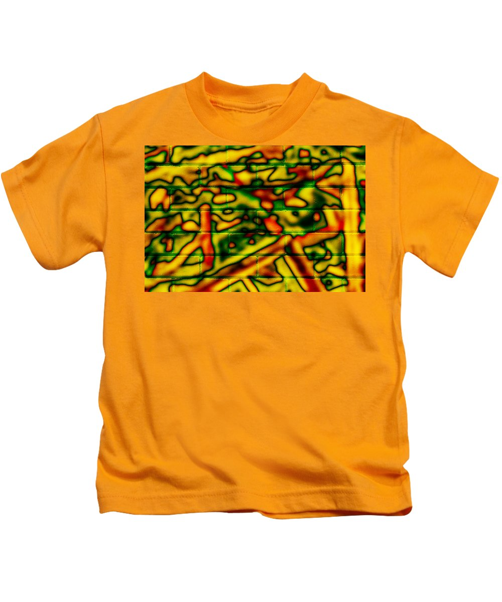 Digital Kids T-Shirt featuring the photograph Grunge Graffiti by Phill Petrovic