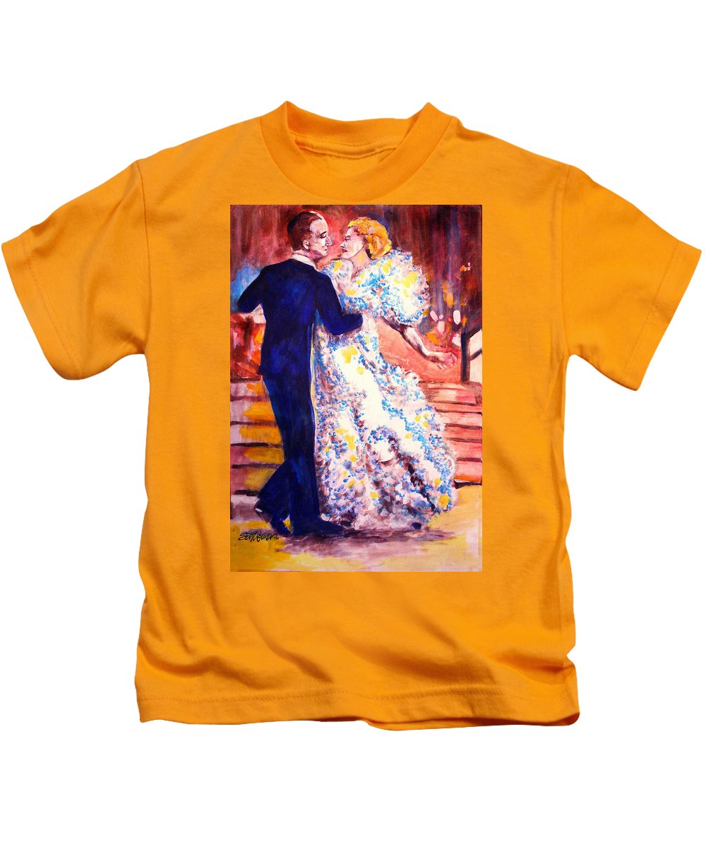 I'm In Heaven Kids T-Shirt featuring the painting I'm In Heaven by Seth Weaver