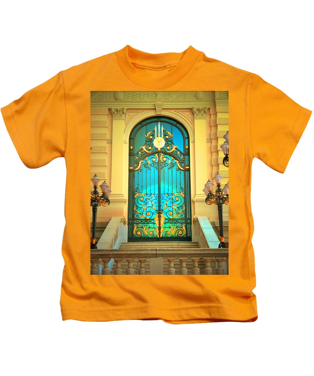 Door Kids T-Shirt featuring the photograph Intricacies by Tara Turner