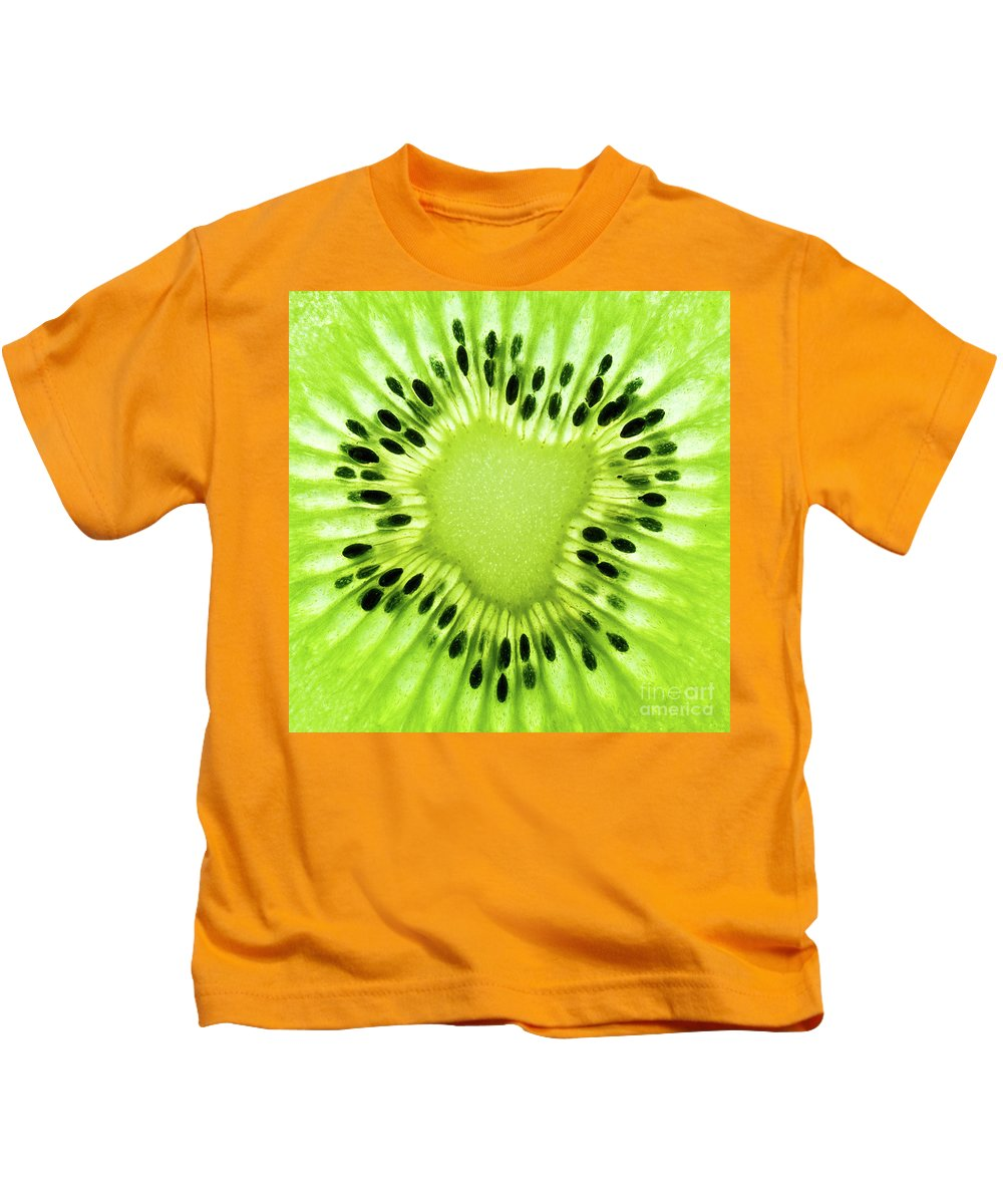 Kiwi Kids T-Shirt featuring the photograph Kiwism by Delphimages Photo Creations