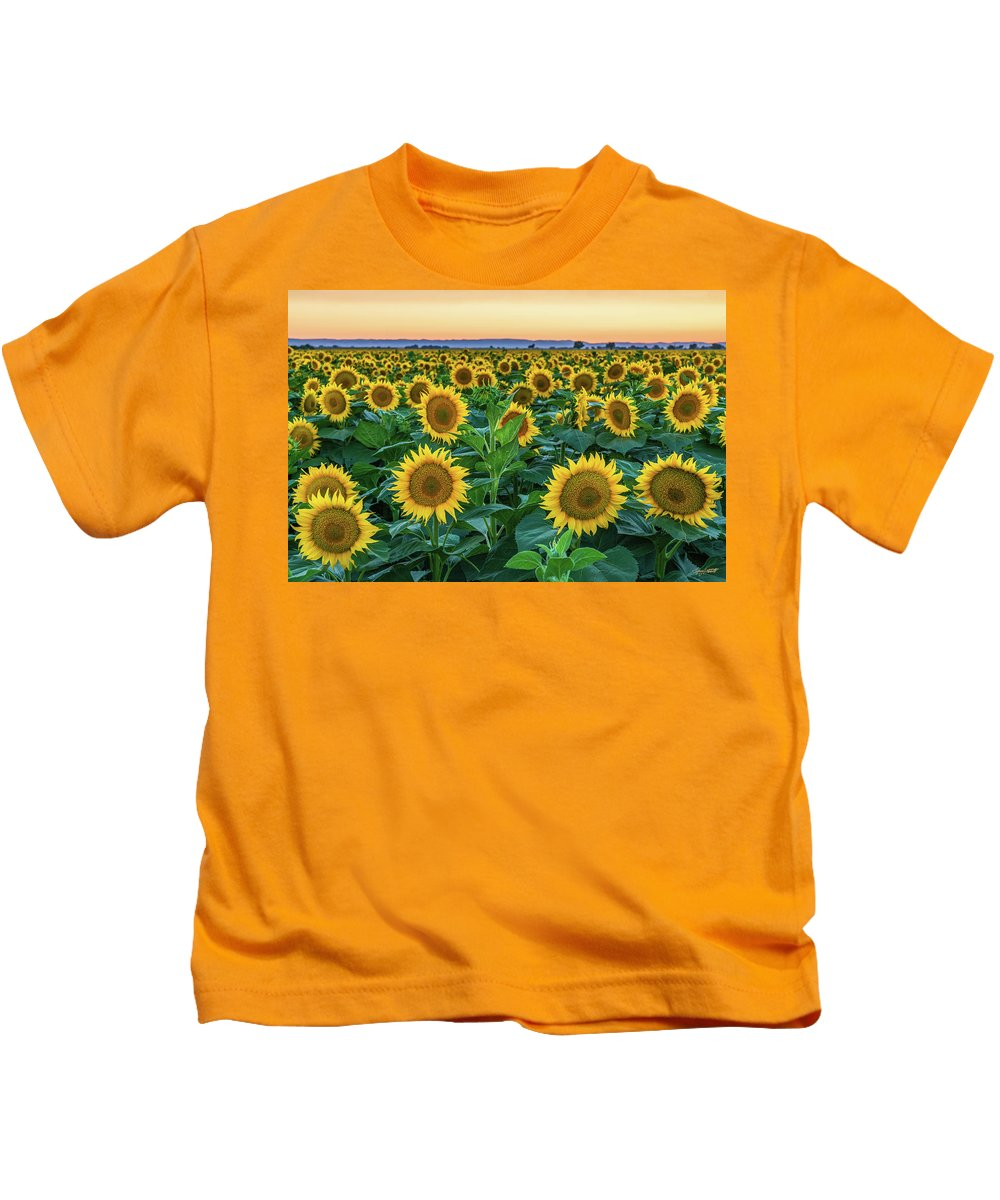 California Kids T-Shirt featuring the photograph Late Bloomer by Greg Mitchell Photography