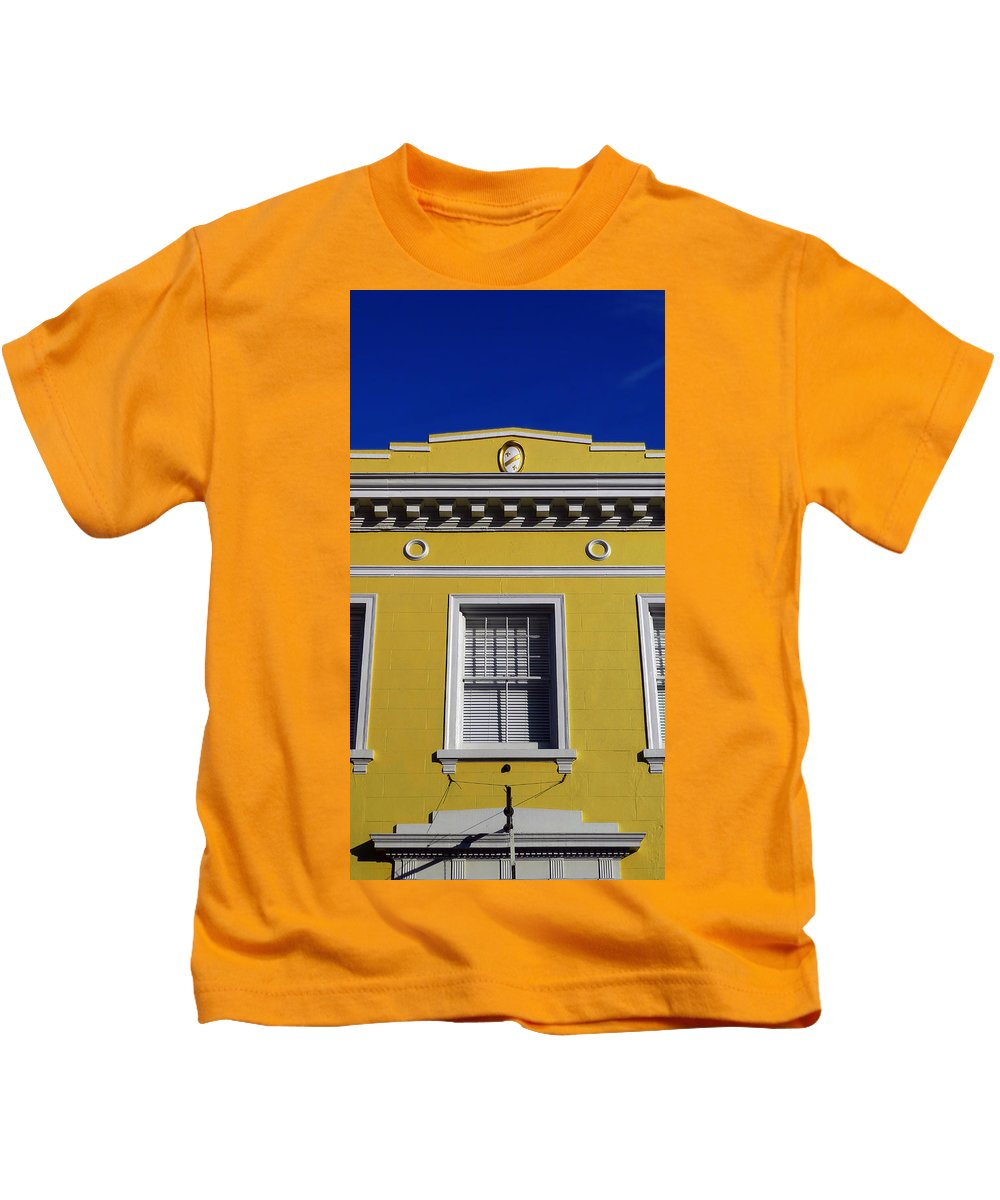 Mellow Yellow Kids T-Shirt featuring the photograph Mellow Yellow by Skip Hunt