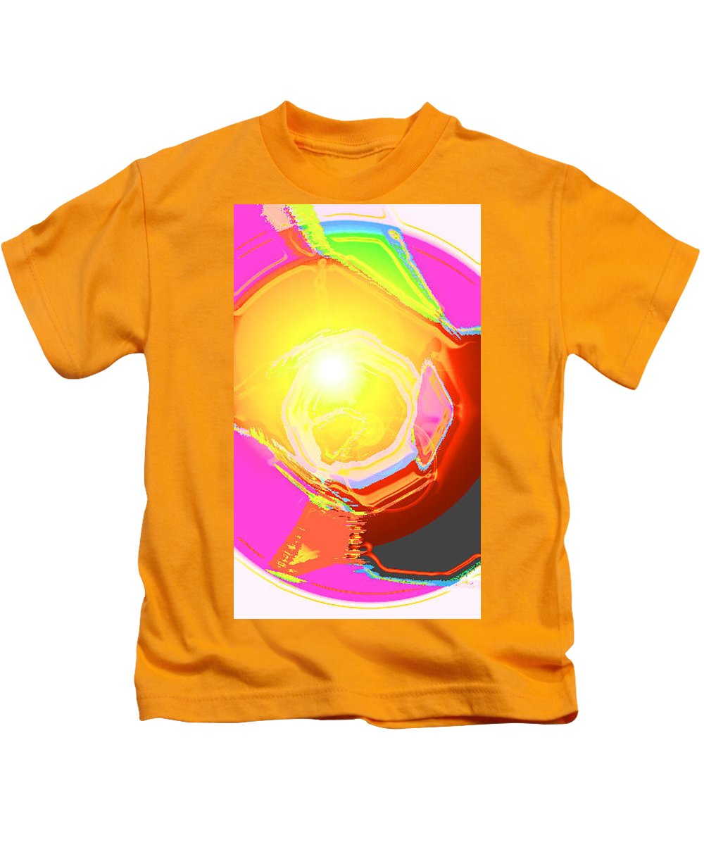 Moveonart! Digital Gallery Kids T-Shirt featuring the digital art Moveonart Enlightened Artistic Society by Jacob Kanduch