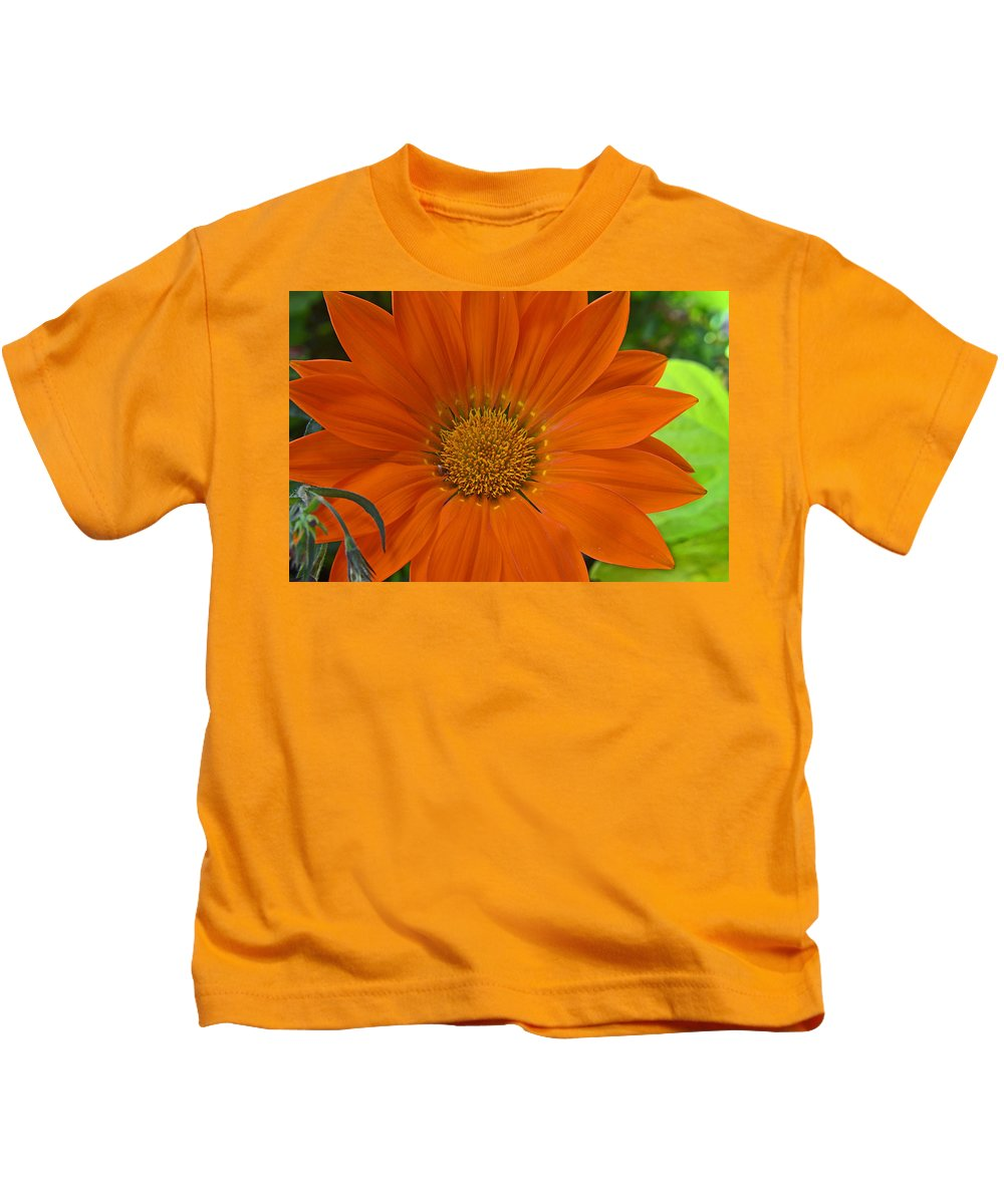 Orange Kids T-Shirt featuring the photograph Orange Flower by Nature's Journey Photography