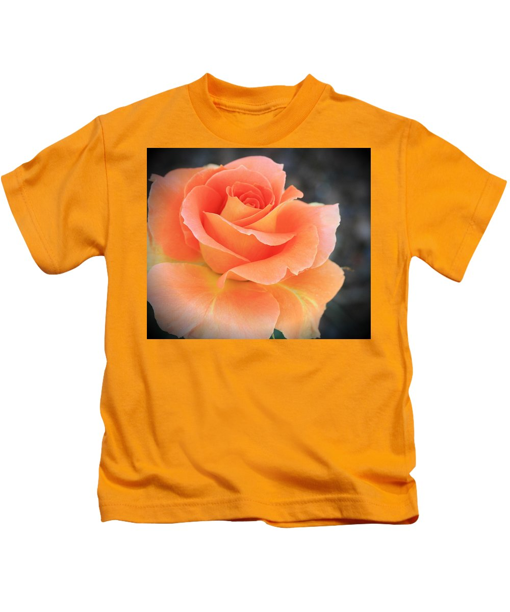 Orange Kids T-Shirt featuring the photograph Orange Sherbert by Marna Edwards Flavell