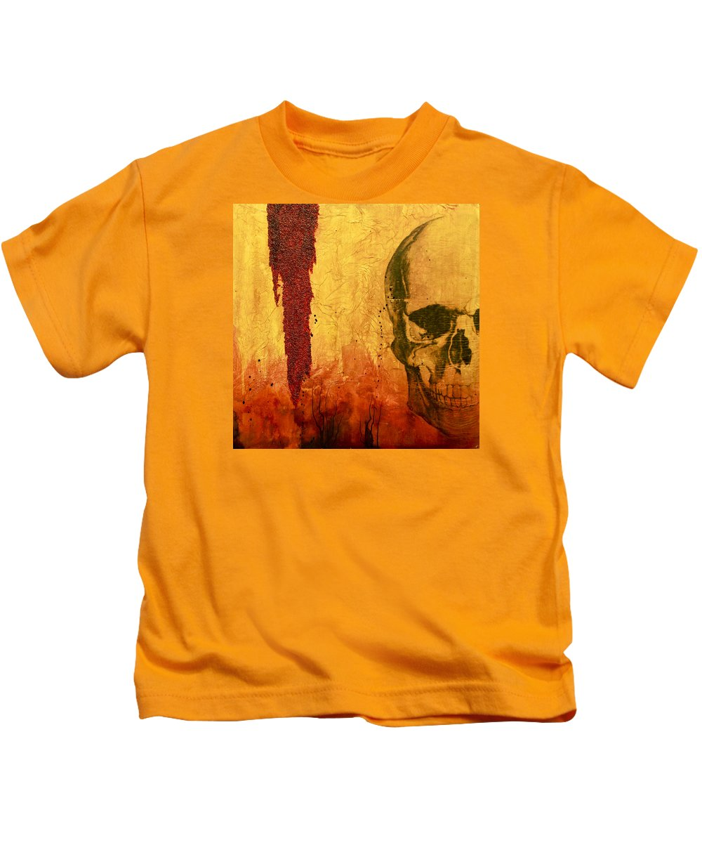 Nine Inch Nails Paintings Kids T-Shirts
