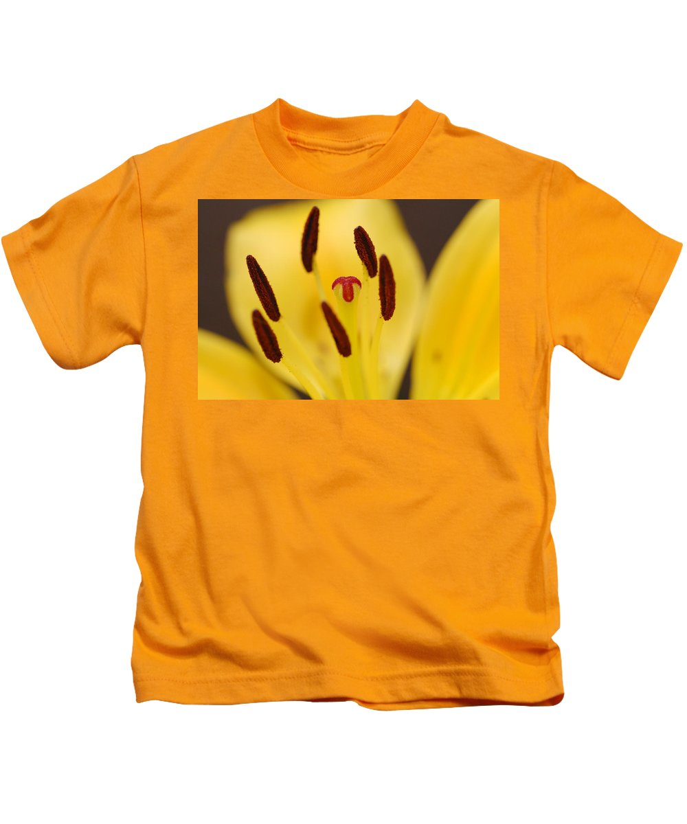 Flower Kids T-Shirt featuring the photograph Reaching by Amy Fose