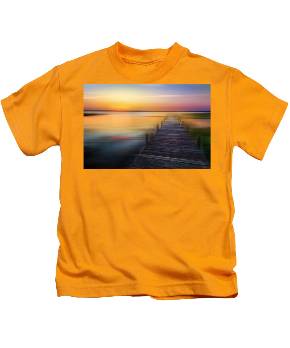 Clouds Kids T-Shirt featuring the photograph Renewal Dreamscape by Debra and Dave Vanderlaan