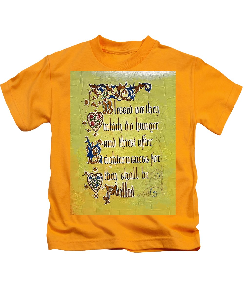 Religion Kids T-Shirt featuring the photograph Sermon8 by Donna Bentley