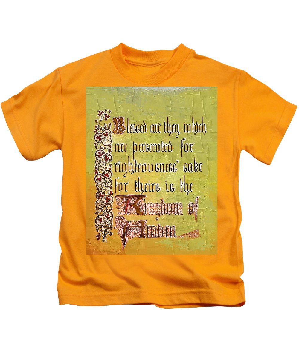Sermon Kids T-Shirt featuring the photograph Sermon9 by Donna Bentley