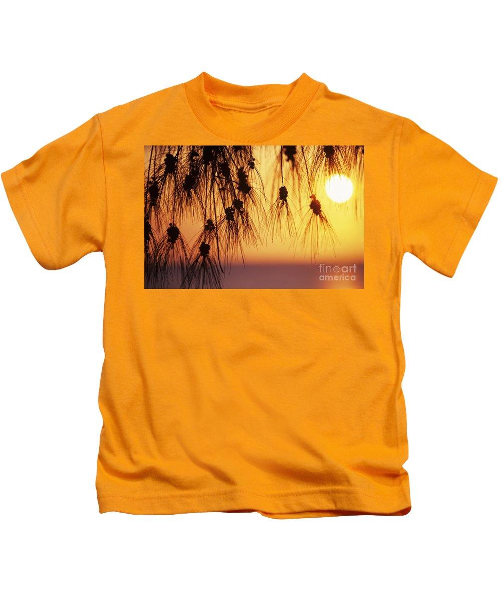 Beautiful Kids T-Shirt featuring the photograph Silhouettes by Rita Ariyoshi - Printscapes