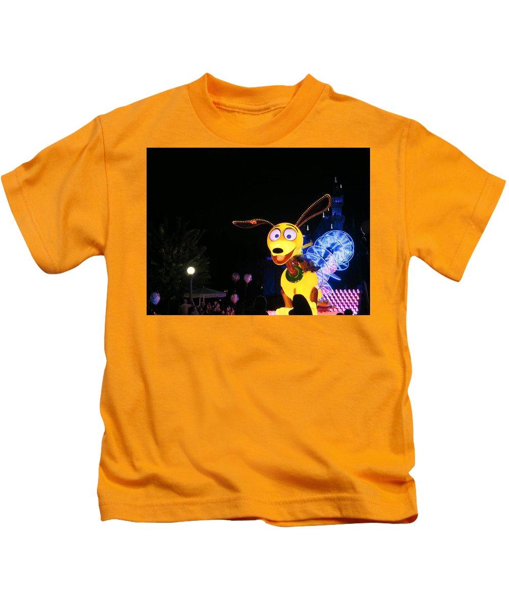 Slinky Kids T-Shirt featuring the photograph Slinky Dog by Amy Stark