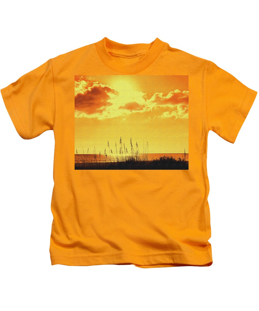 Sun Kids T-Shirt featuring the photograph Sun by Ian MacDonald