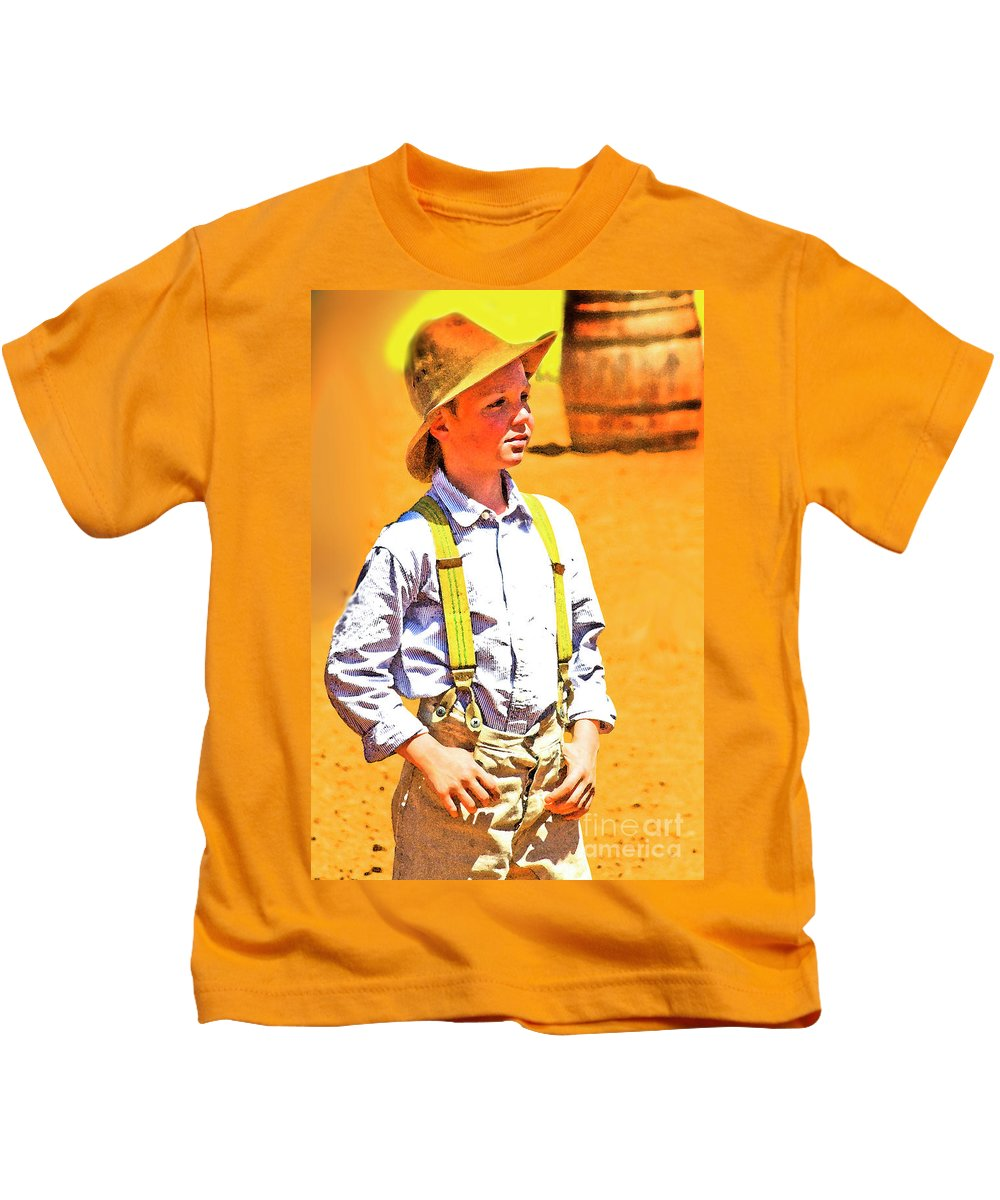 Reenacting Kids T-Shirt featuring the photograph Sunny Day by Kim Henderson