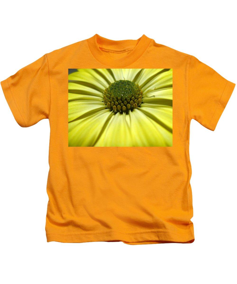 Daisy Kids T-Shirt featuring the photograph Sunny Days by Marla McFall