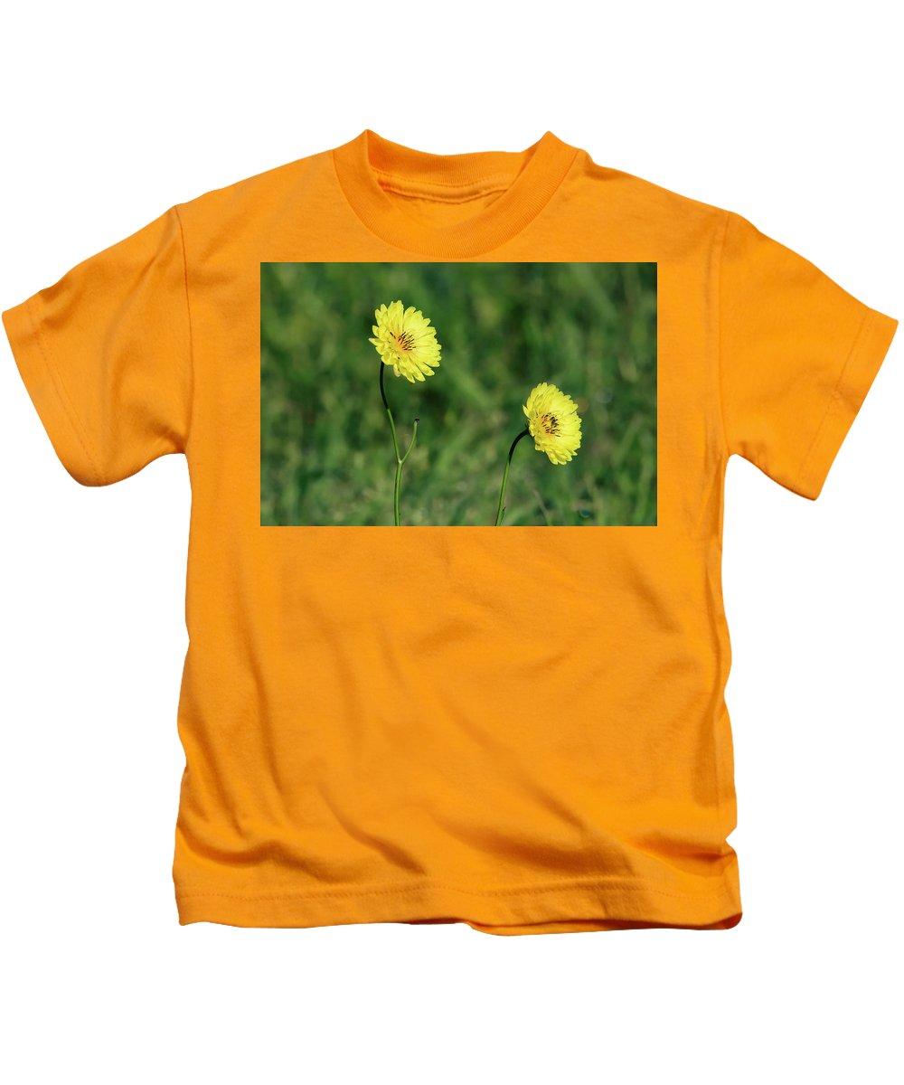 Colors Kids T-Shirt featuring the photograph This Little Light Of Mine by Burge Darwin