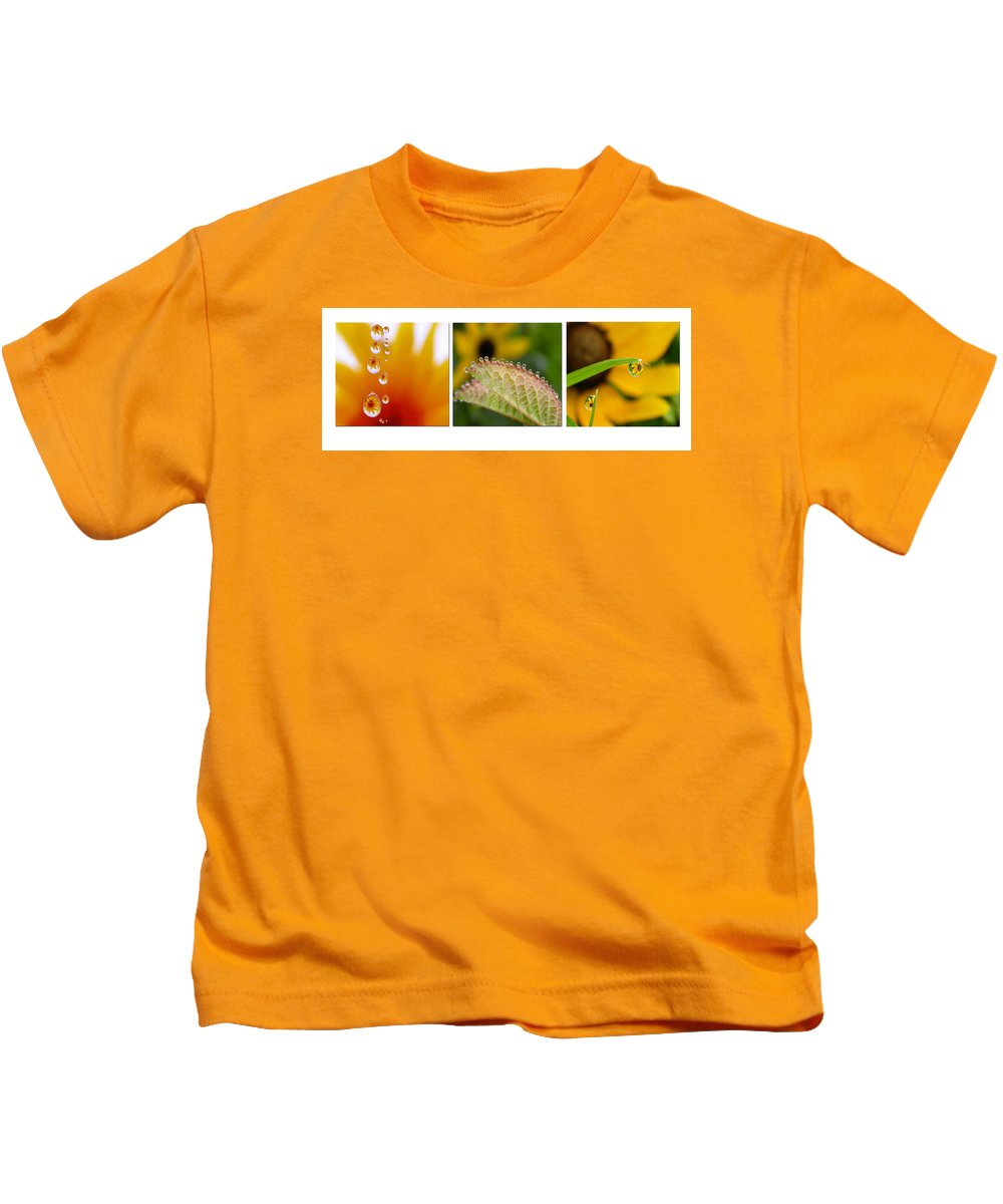 Dew Kids T-Shirt featuring the photograph Tiny Miracles by Linda Murphy