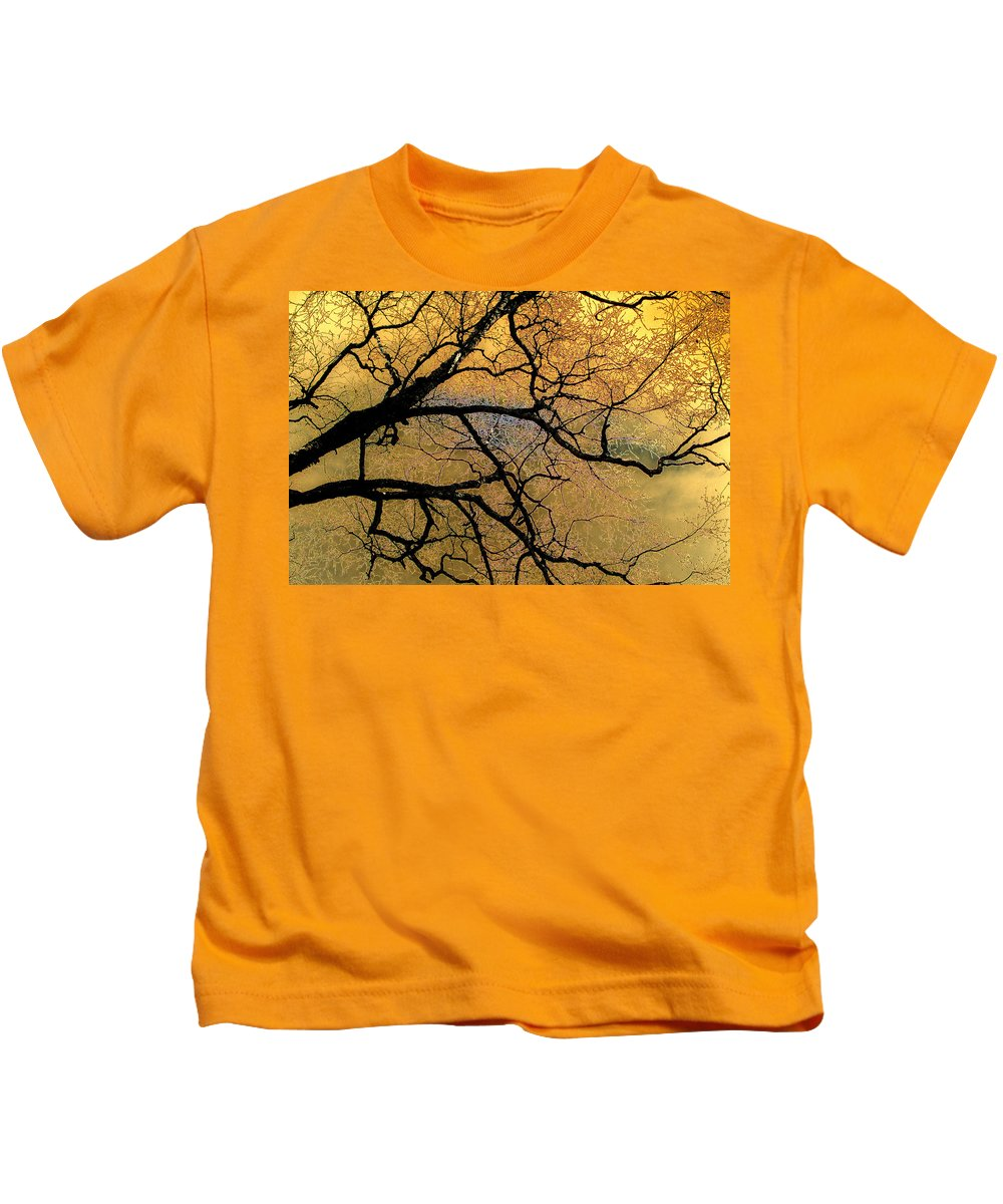 Scenic Kids T-Shirt featuring the photograph Tree Fantasy 7 by Lee Santa