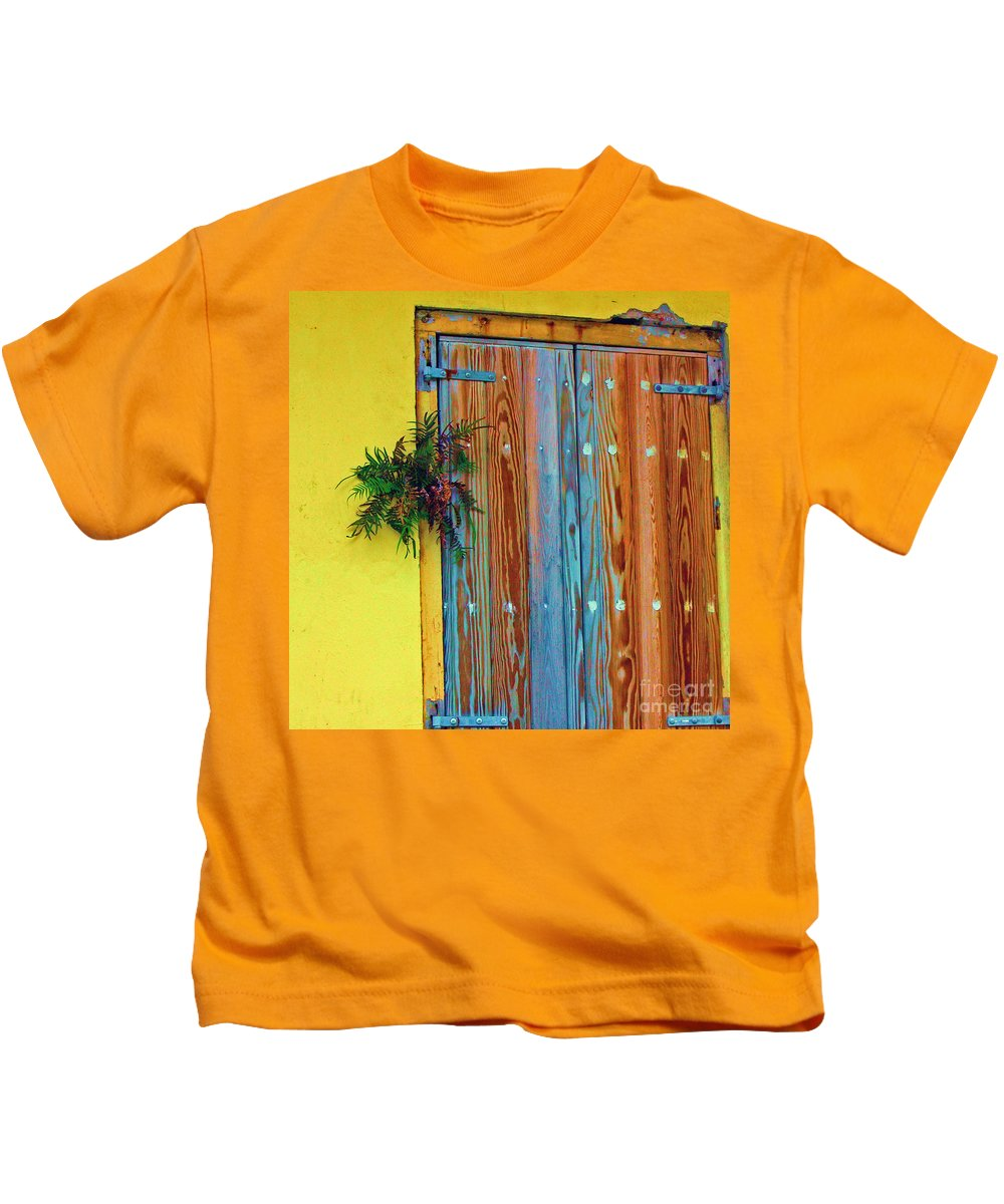 Door Kids T-Shirt featuring the photograph Twisted Root by Debbi Granruth