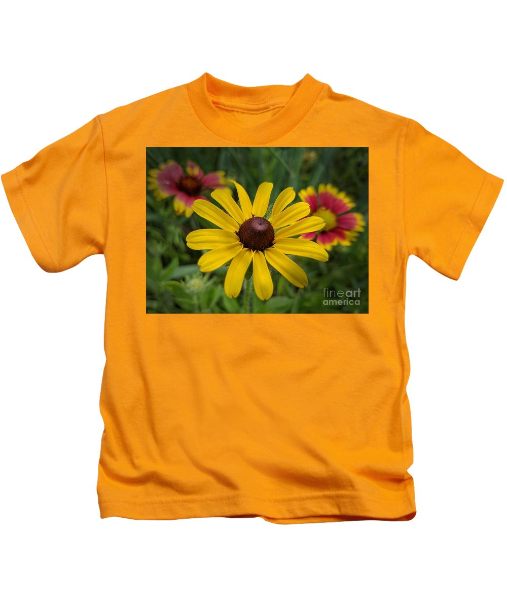 Wild Beauty Kids T-Shirt featuring the photograph Wild Beauty by Maria Urso