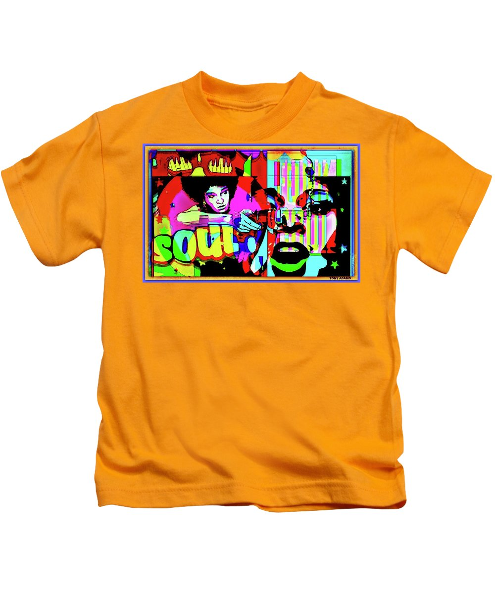 Women Of Color Will Wash Away The Stain Of The Trump Administration In 2018/2020 Elections Kids T-Shirt featuring the digital art Women Of Color Will Wash Away The Stain Of The Trump Administration In 2018/2020 Elections by Tony Adamo