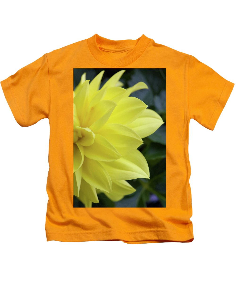 Art Kids T-Shirt featuring the photograph Yellow by Alan Look