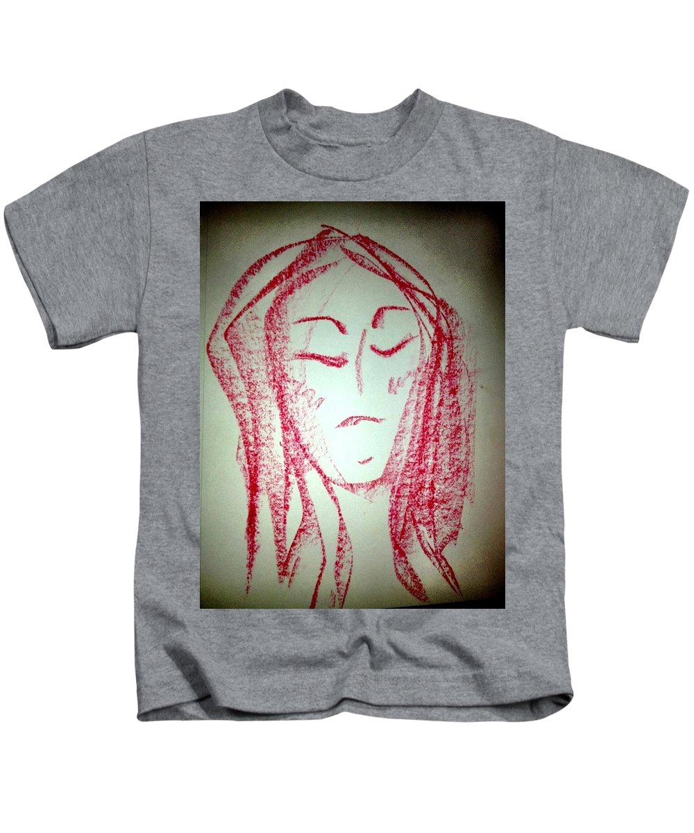 Woman Kids T-Shirt featuring the photograph Art Therapy 129 by Michele Monk