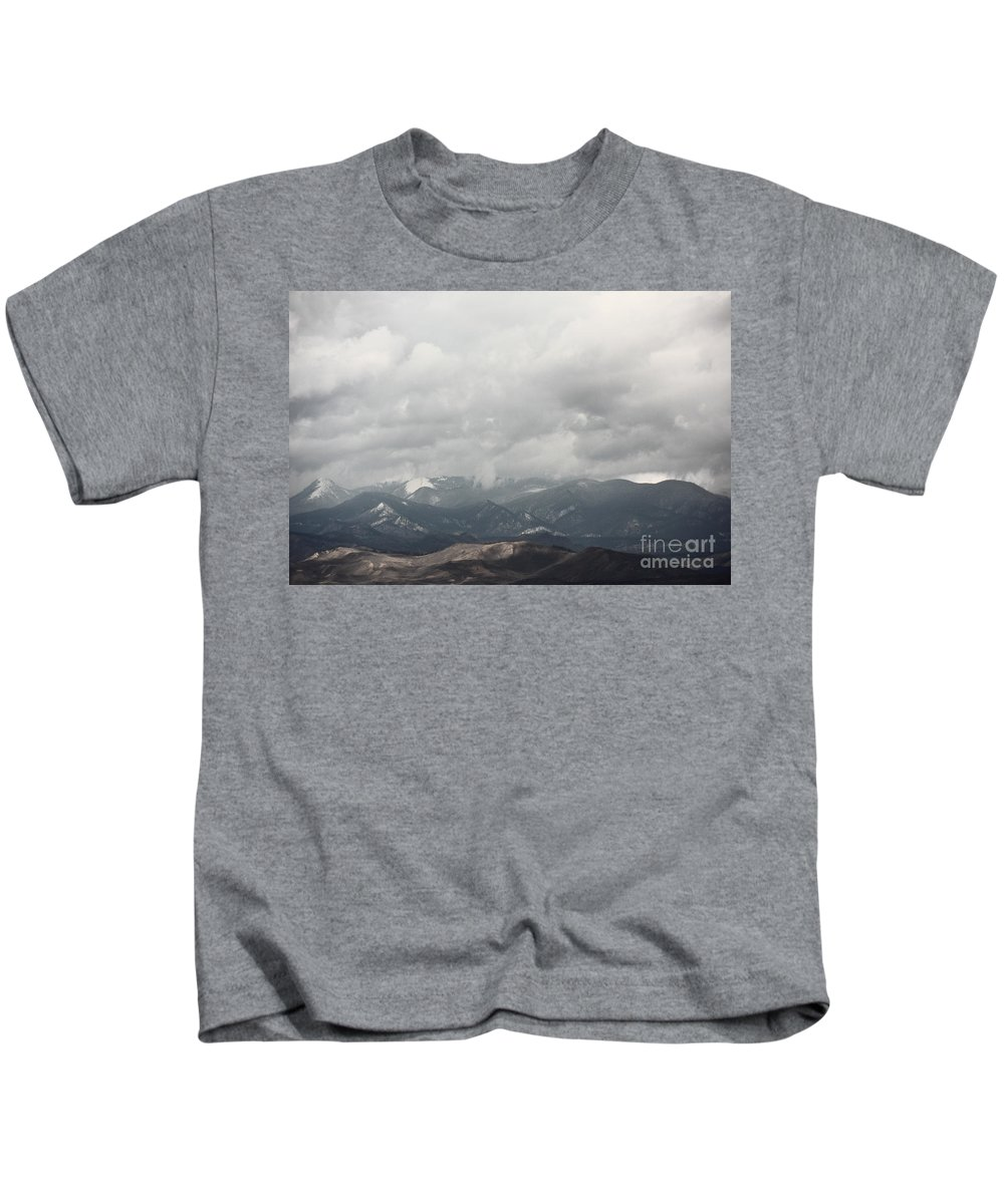 Colorado Kids T-Shirt featuring the photograph As Far As The Eye by Dana DiPasquale