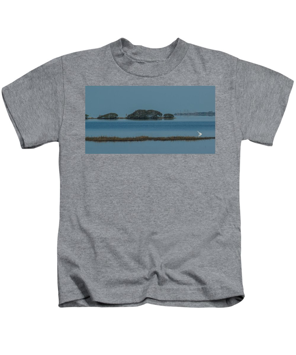 Florida Kids T-Shirt featuring the photograph Calm Morning by Jane Luxton