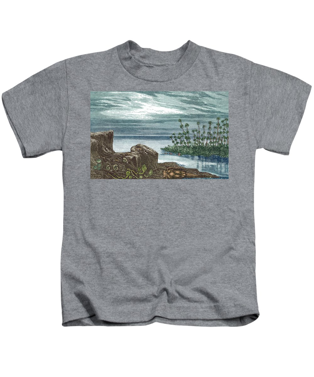 Devonian Period Kids T-Shirt featuring the photograph Devonian Period by Science Source