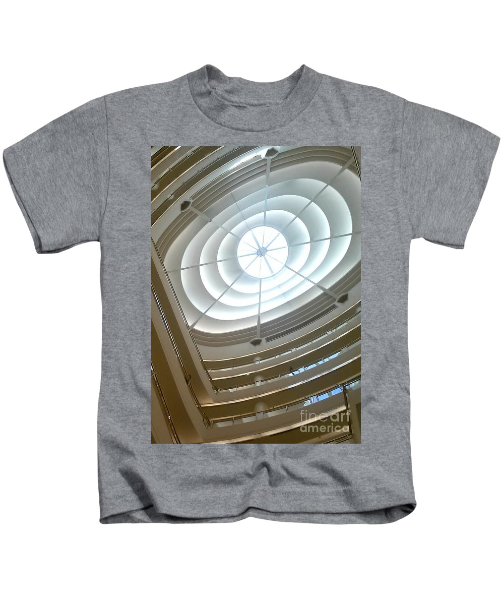 Abstract Kids T-Shirt featuring the photograph Look Up by Charlotte Stevenson