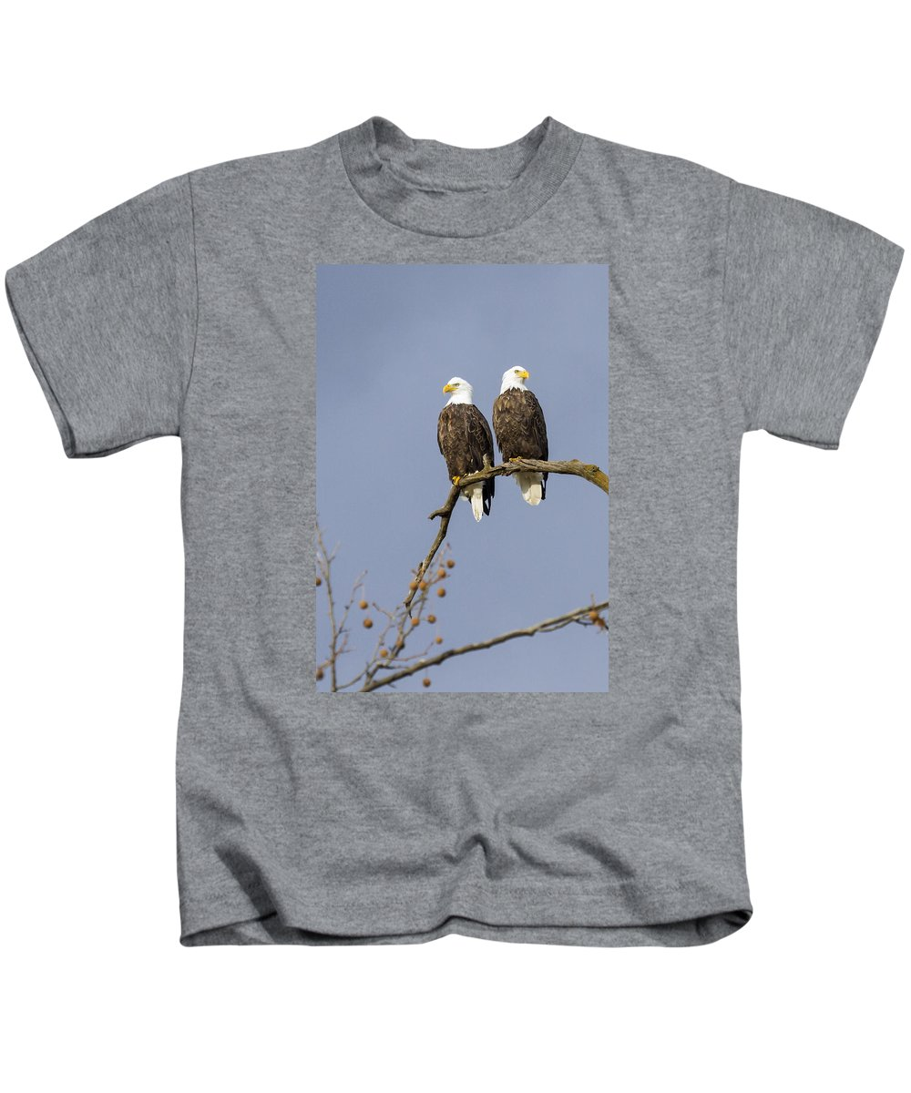 Eagle Kids T-Shirt featuring the photograph Majestic Beauty 5 by David Lester