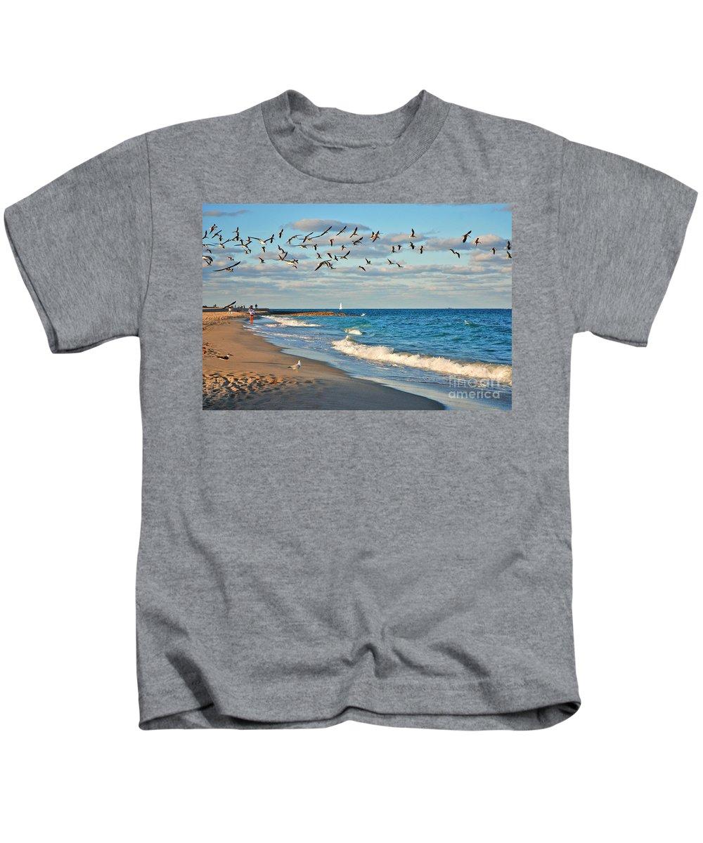 Ocean Reef Park Kids T-Shirt featuring the photograph 1- Ocean Reef Park by Joseph Keane
