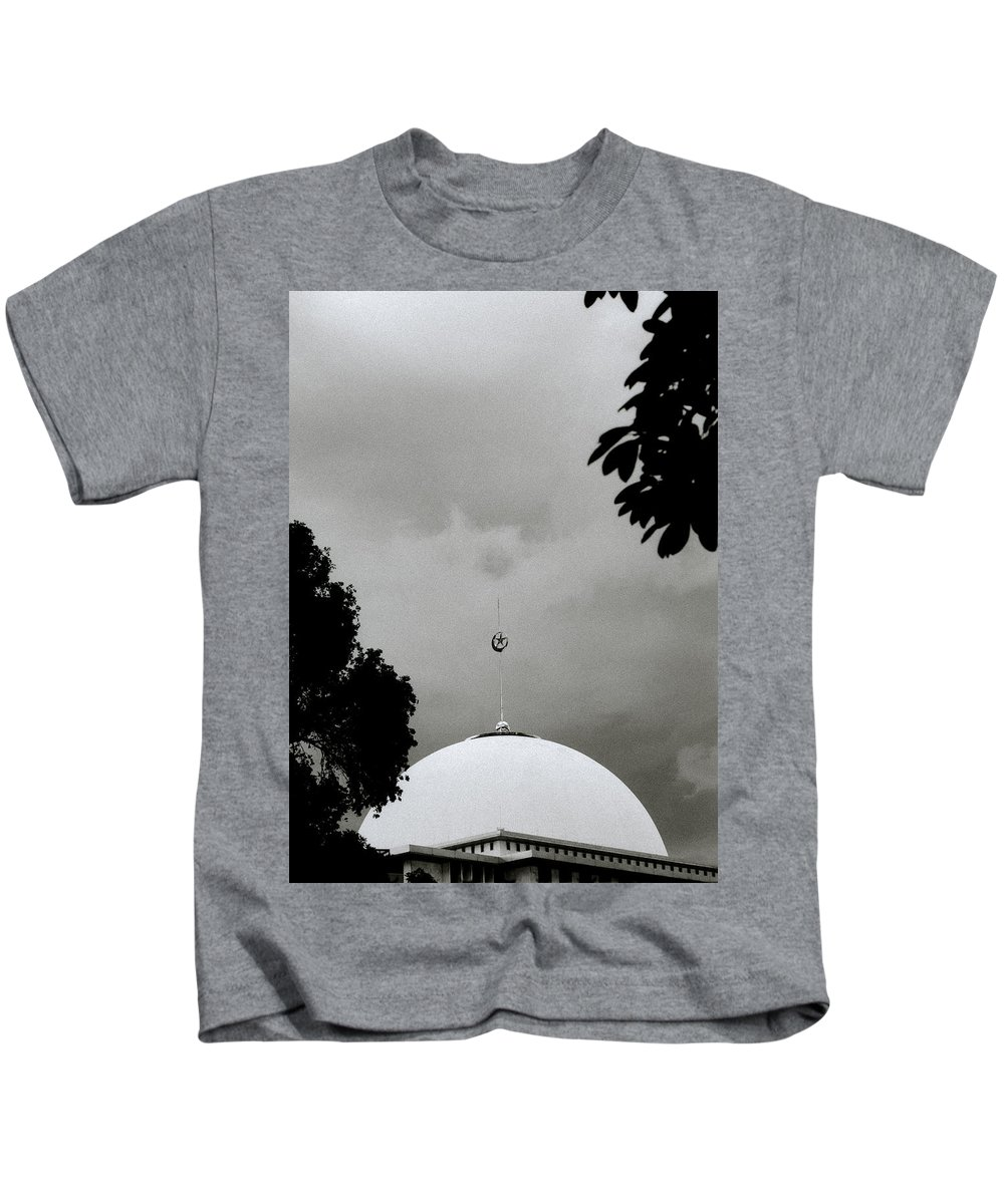 Modern Kids T-Shirt featuring the photograph The Dome by Shaun Higson
