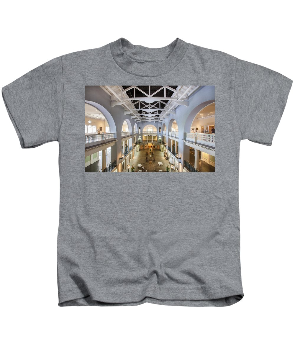 Lightner Museum Kids T-Shirt featuring the photograph The Lightner Museum by Rich Franco
