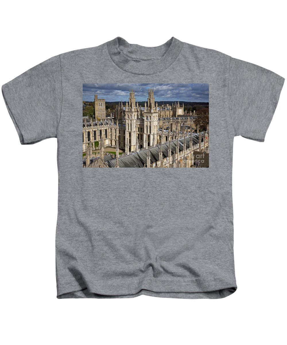 All Souls Kids T-Shirt featuring the photograph 110307p106 by Arterra Picture Library