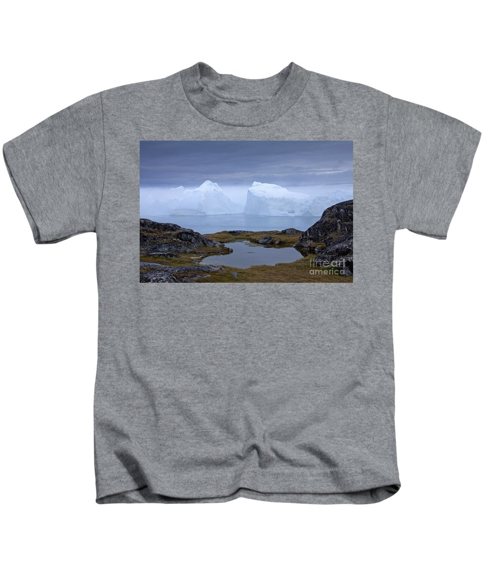 Iceberg Kids T-Shirt featuring the photograph 110613p170 by Arterra Picture Library