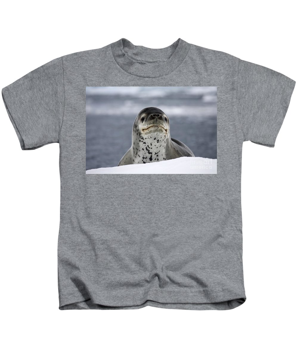 Paradise Bay Kids T-Shirt featuring the photograph 111130p133 by Arterra Picture Library