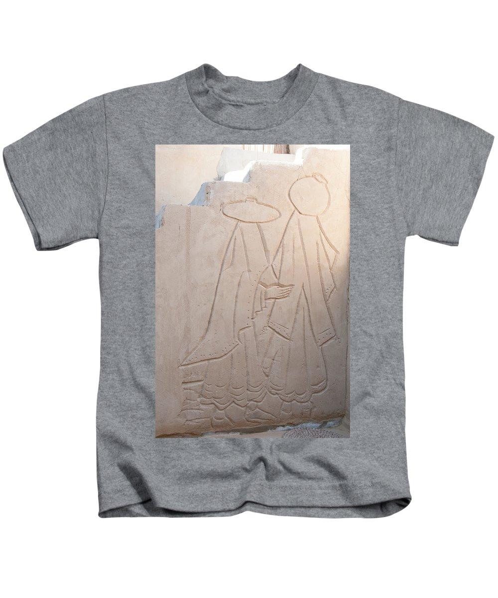 Egypt Kids T-Shirt featuring the digital art Badr by Carol Ailles