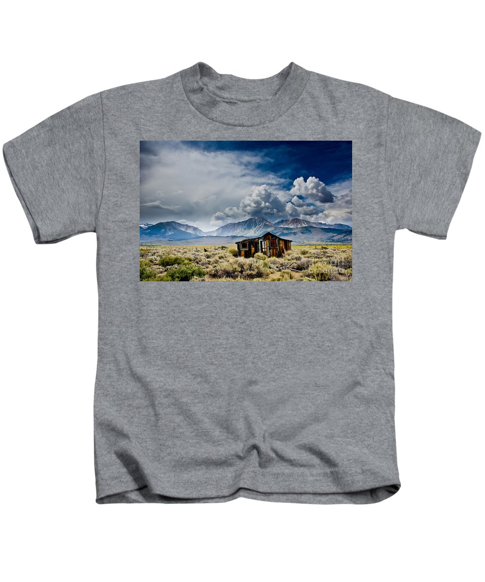 Country Kids T-Shirt featuring the photograph American Dream by Larry Young