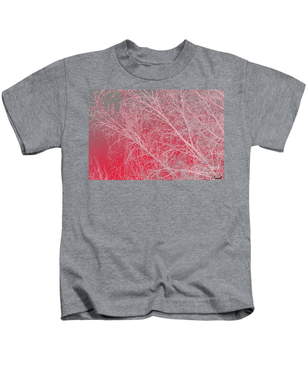 Pink Kids T-Shirt featuring the digital art Pink by Carol Lynch
