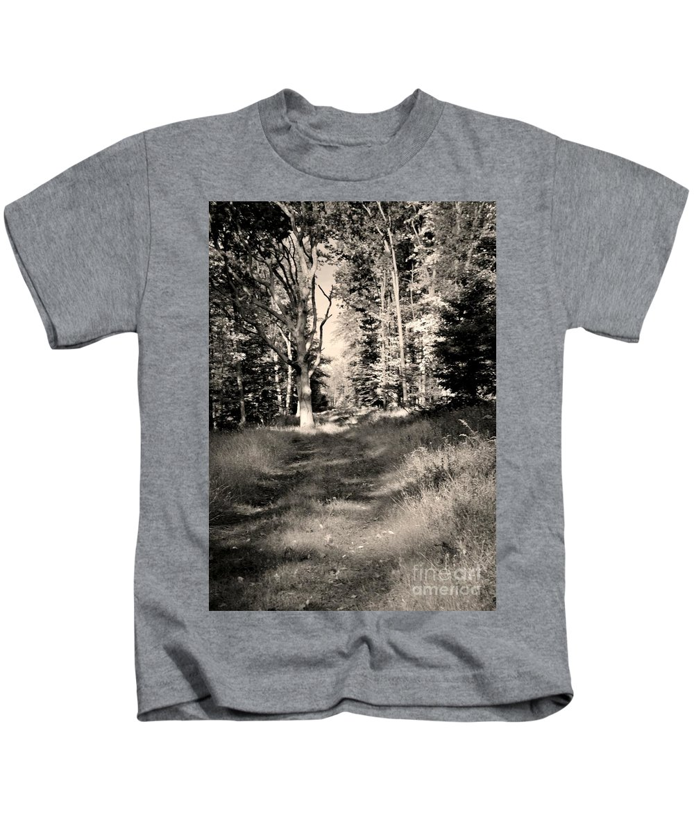 Kids T-Shirt featuring the photograph Autumn 2013 by Chet B Simpson