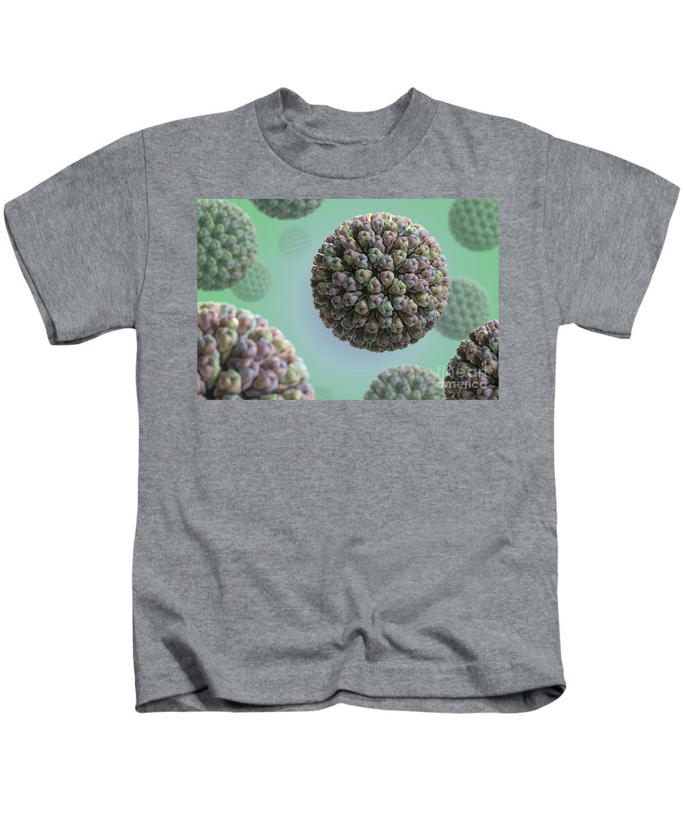 Ill Kids T-Shirt featuring the photograph Rotavirus by Science Picture Co