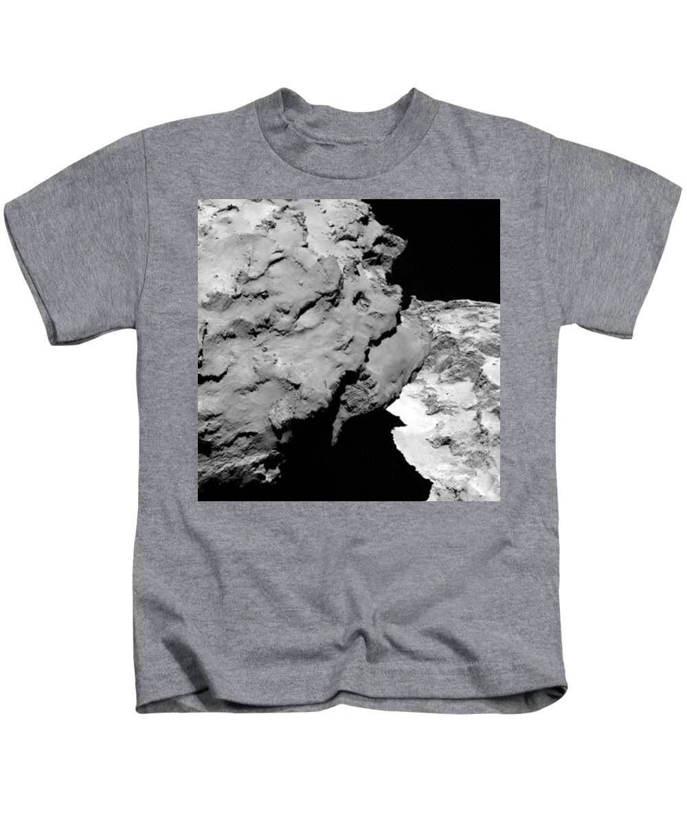 Comet Kids T-Shirt featuring the photograph Comet Churyumov-gerasimenko by Science Source