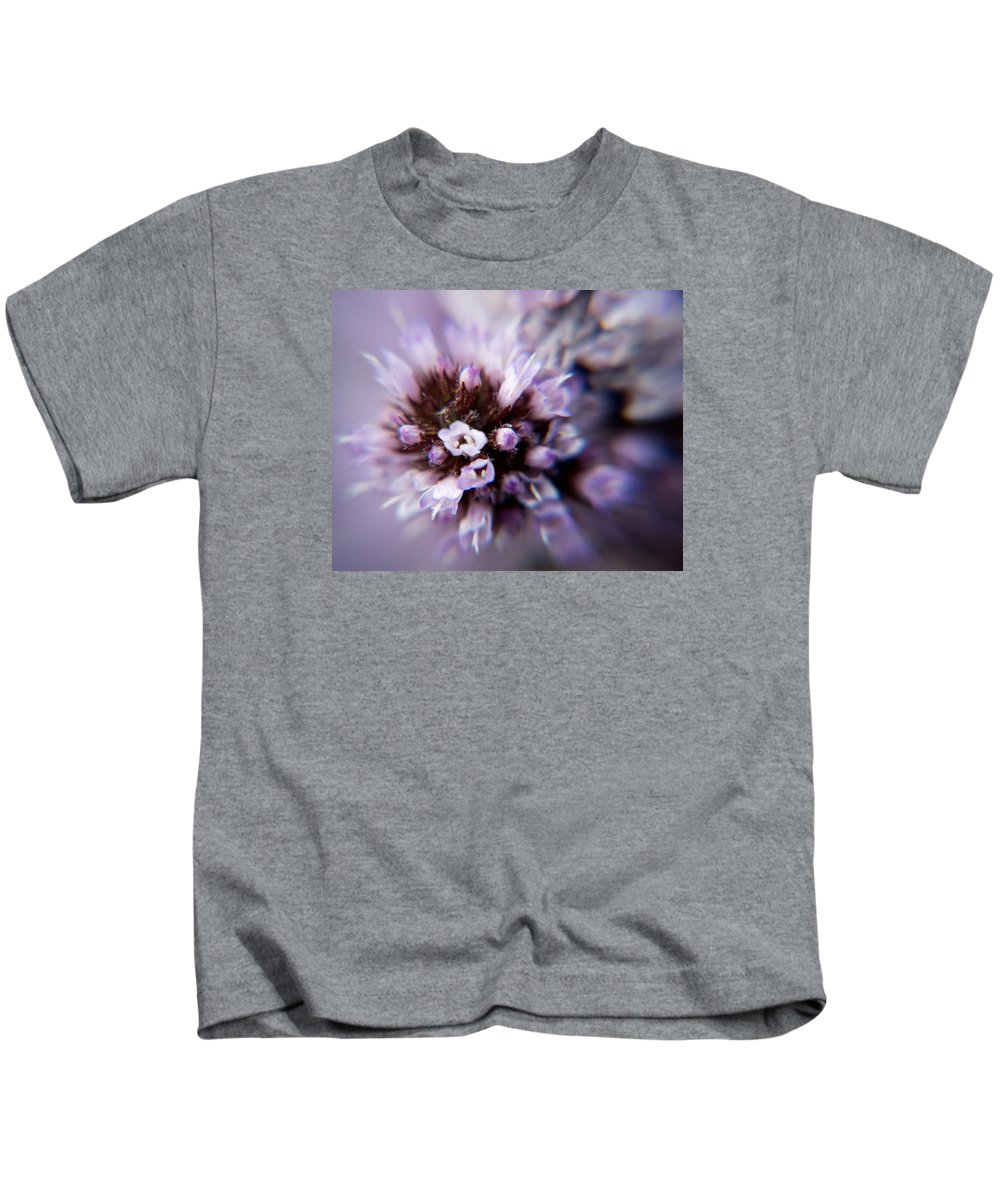 Macro Kids T-Shirt featuring the photograph Spring Is Bursting Out All Over. by Dave Byrne