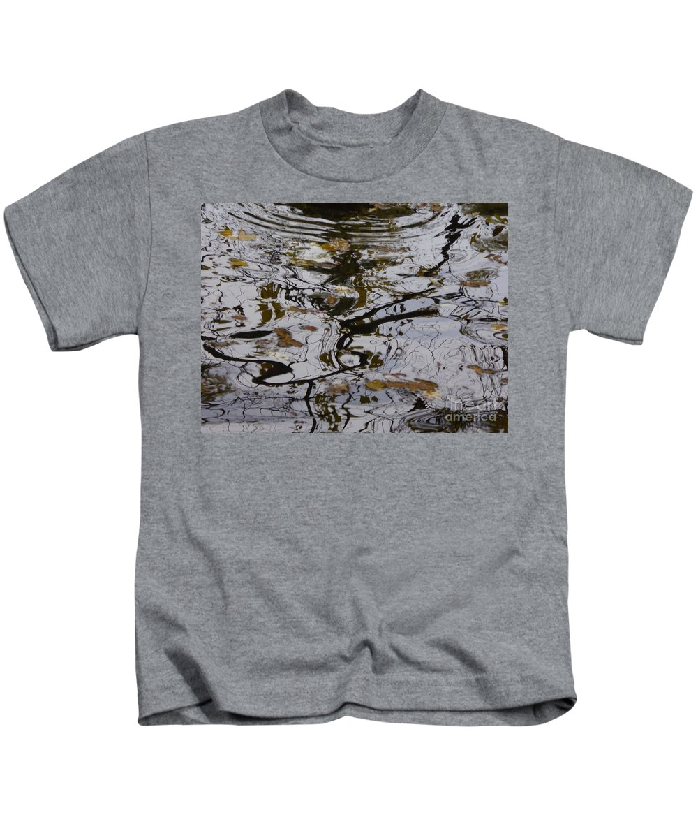 Kids T-Shirt featuring the photograph A Drawing Of Nature by Nili Tochner