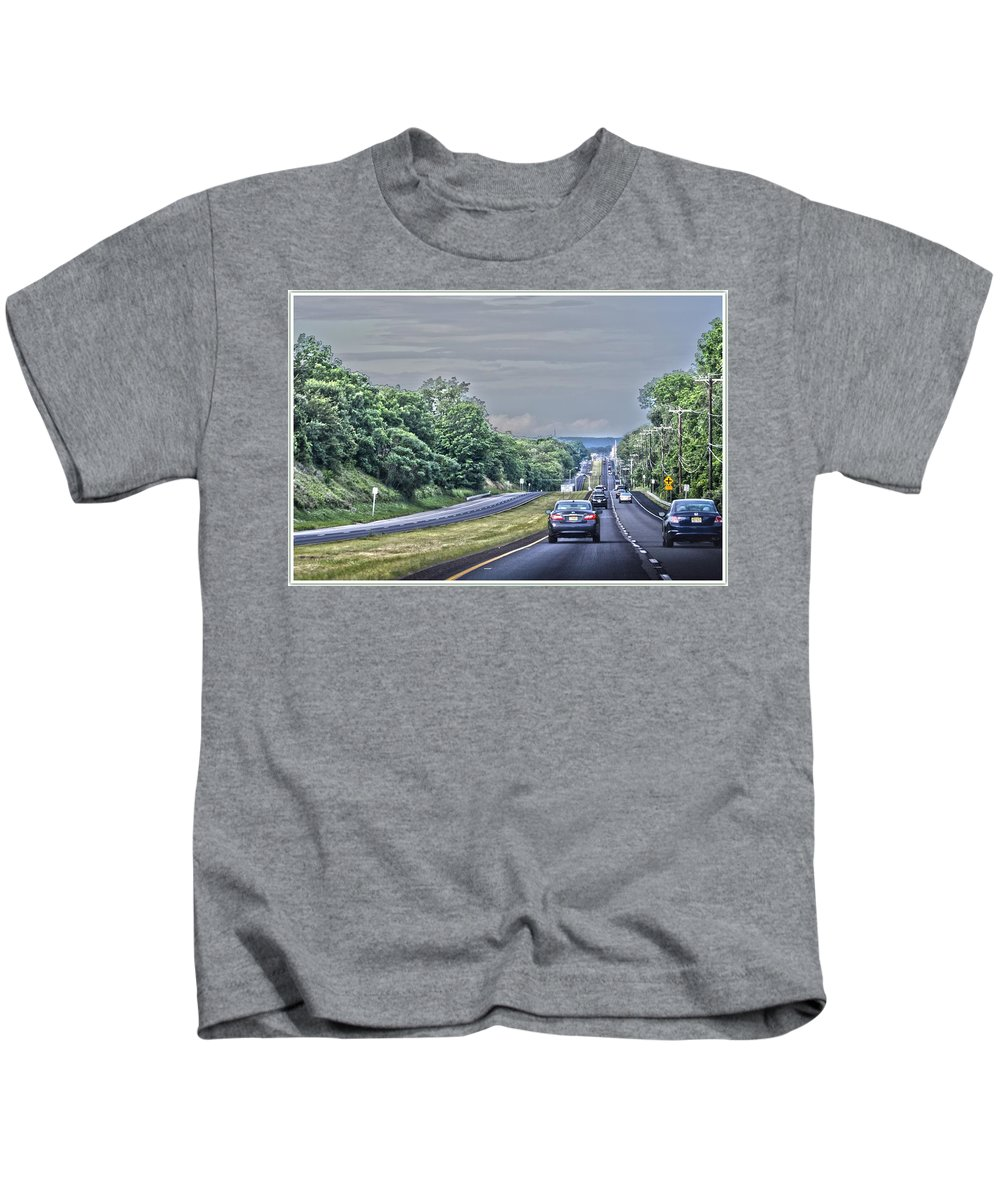 A Journey Kids T-Shirt featuring the photograph A Journey by Sonali Gangane