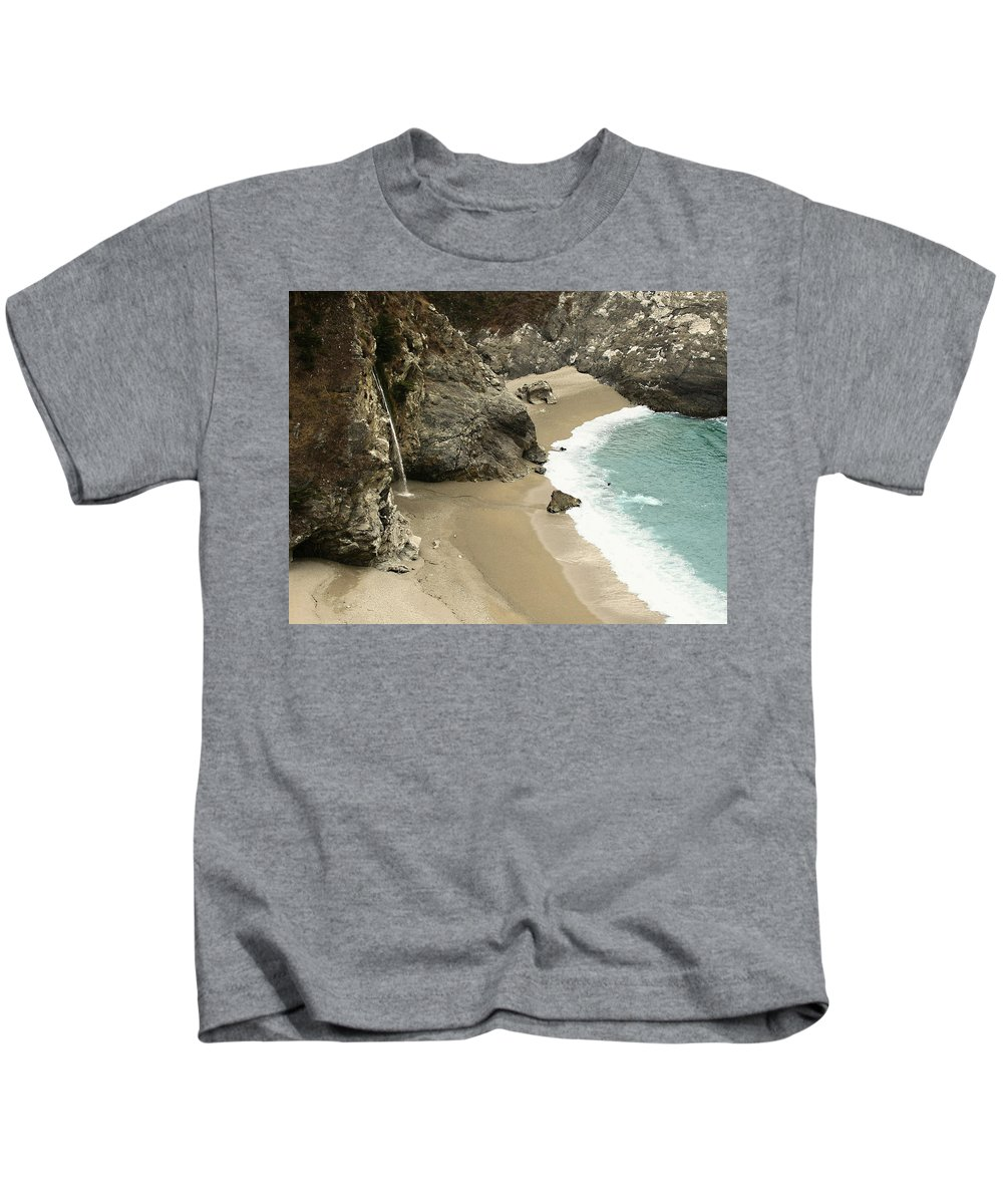 A Secret Place Kids T-Shirt featuring the photograph A Secret Place by Ellen Henneke